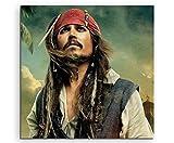 Pirates Of The Caribbean Captain Jack Sparrow Leinwandbild