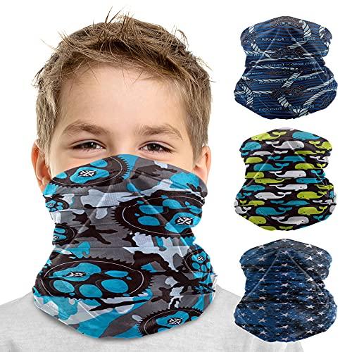 Debrief Me - Face Cover Bandana Dust Mask for Kids Neck Gaiter Summer Balaclava Adjustable