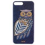 Chumbak Flower Owl Gold iPhone 7 Plus Case