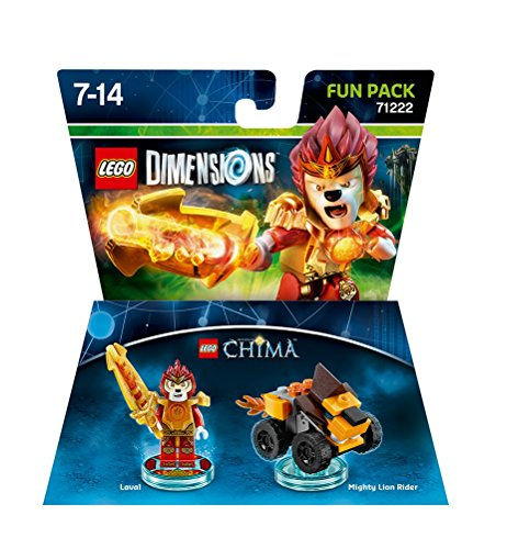 Warner Bros Interactive Spain Lego Dimensions - Figura Chima Laval
