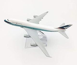16cm 1:400キャセイパシフィック航空B747航空機モデルダイキャストメタルモデル航空機モデルおもちゃ