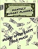 Monthly Budget Planner: Planner With Monthly Budget Tracker For Paying Off Your Debts