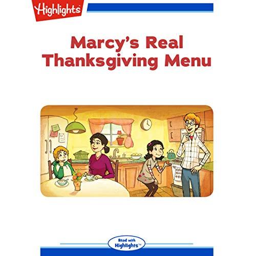 Marcy's Real Thanksgiving Menu copertina