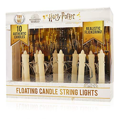 Harry Potter Wizarding World - Guirnalda de velas flotantes