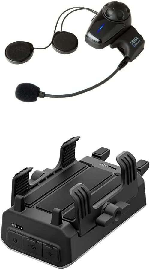 Sena SMH10 Austin Mall Motorcycle Bluetooth Headset and with PowerPro New popularity Mount