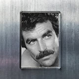 Seasons Tom Selleck - Original Art Fridge Magnet #js001