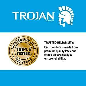 Trojan Pleasure Variety Pack Lubricated Condoms