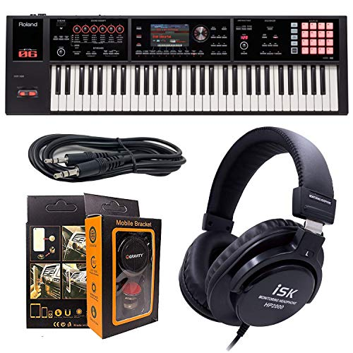 Why Should You Buy Roland PK 61-key Music Workstation FA-06 + ISK HP2000 Headphone w/Free 3.5mm AUX ...
