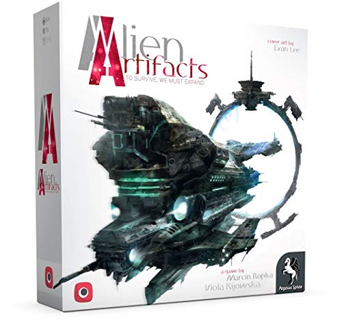 Alien Artifacts - Grundspiel - Brettspiel | Deutsch | Portal Games