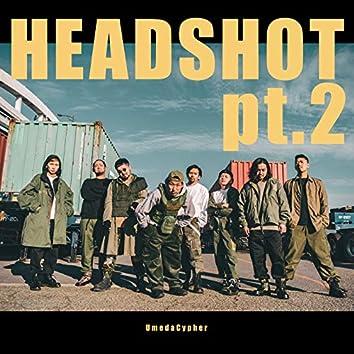 HEADSHOT pt.2 (feat. テークエム, ふぁんく, R-指定, KBD, KennyDoes, KOPERU, KZ & peko)