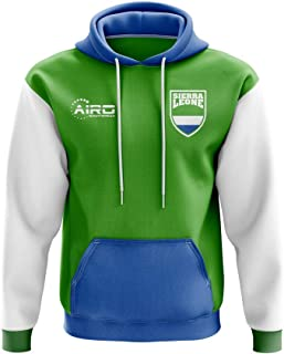 Sierra Leone Concept Country Football Hoody (Green)