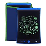 Sunany LCD Writing Tablet,8.5-Inch Drawing Board Doodle Board Reusable Doodle Pad Writing Pad,Electronic Drawing Pad and Writing Board is The Gift for Kids at Home and School (Blue)