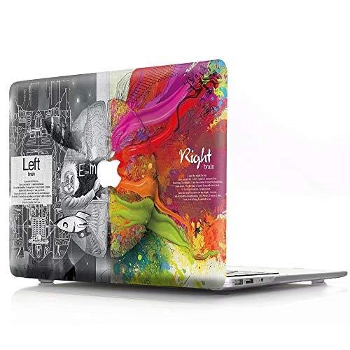 AQYLQ Left and Right Brain MacBook Air 13 Zoll Hülle Schutzhülle Hülle Cover MacBook Air 13.3 Hülle {A1369 / A1466} - Technisches Gehirn