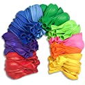 100-Pack Livino Rainbow 12 Inches Party Balloons