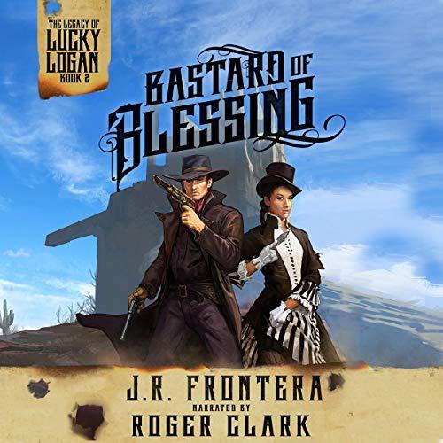 『Bastard of Blessing: A Western Steampunk Adventure』のカバーアート
