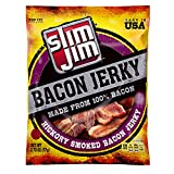 Slim Jim Bacon Jerky, Hickory Smoked Flavor, 2.75 Oz. Bag