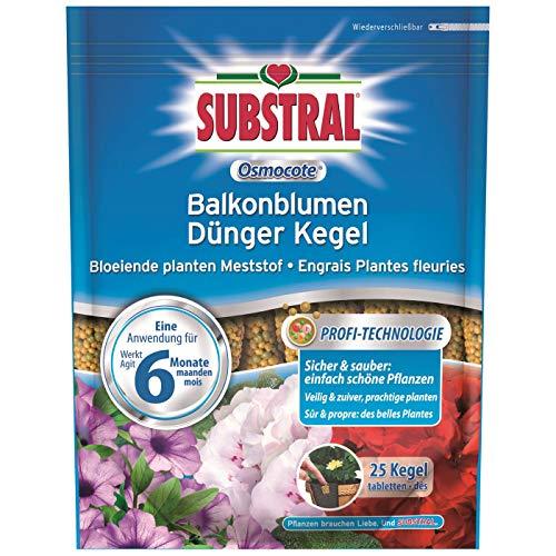 Substral Osmocote Balkonblumen Dünger Kegel 50 Stück