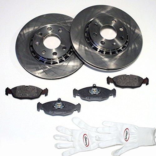 Autoparts-Online Set 60008285 Bremsscheiben Ø 258 mm/Bremsen + Bremsbeläge vorne