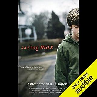 Saving Max audiobook cover art