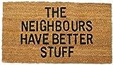 Umore - The Neighbours Have Better Stuff Zerbino (70 x 40cm) (Terrazze e Giardini)