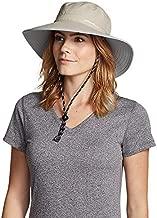 Eddie Bauer Women's Exploration UPF Wide Brim Hat, Putty Regular S/M