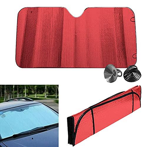 Parasol Coche Delantero Originales Enrollable Cars Luna Para Sol Delantero Coches Laterales Plegable Protección Contra Rayos UV,Furgoneta O Auto Fresco Desde el Sol de Verano