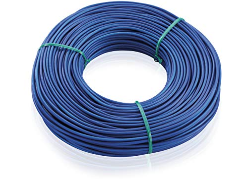 Leifheit Cuerdas para TENDEDERO Jardin 1085610, De plástico, Poliéster, Azul, Único