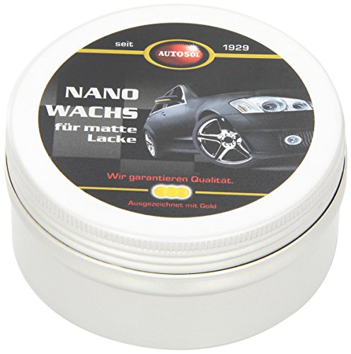 Autosol 11 000830 Nano Wachs für Matte Lacke, 180 ml