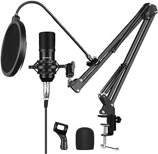 Generic 1 Set Condenser Microphone Computer Recording Condenser Mic Recording Microphone