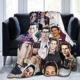 AiXiNiNi Dylan Obrien Blanket Teen Wolf 50x40 inch