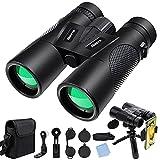 Best Concert Binoculars - ALOVVE 12x42 Binoculars for Adults, HD Professional Binoculars Review