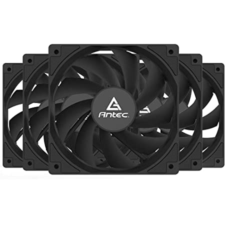 Antec Ventilateur PC 120mm, Ventilateur de boîtier PC Haute Performance, connecteur 3 Broches, série P12 5 Paquets…