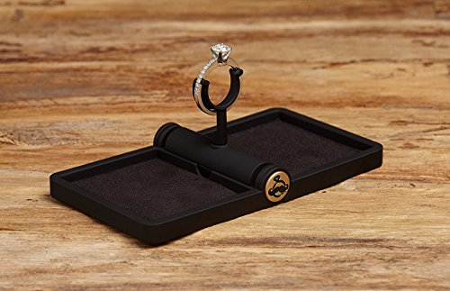 Ring Stash 2.0 - Slim Engagement Ring Box with Rotating Holder