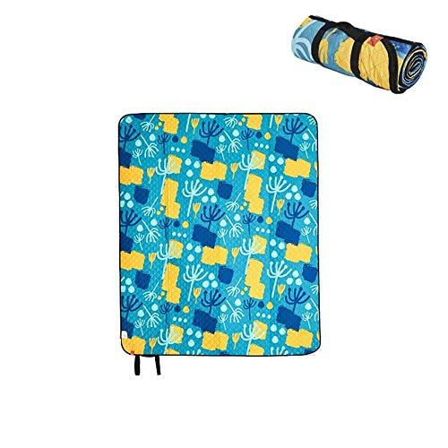 Wuzhengzhijia Tapis de Pique-Nique imperméable extérieur résistant à l'humidité Pad résistant à l'humidité Portable Tapis de Sol Tapis de Tente Tapis de Plage Pique-Nique en Tissu résistant à l'usure