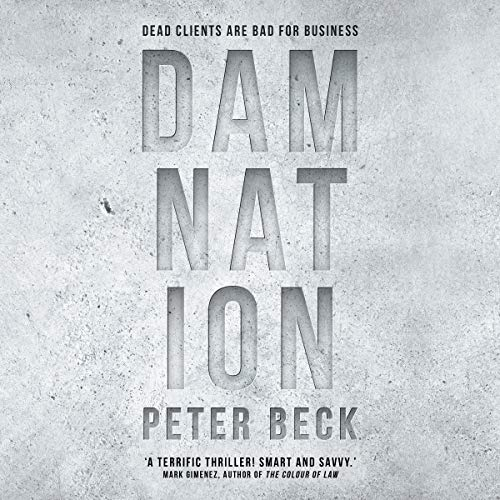 Damnation audiobook cover art