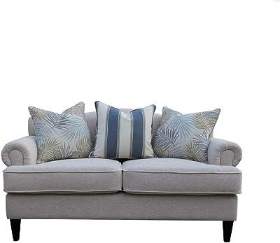 Danube Home Felix 2 Seater Fabric Sofa - Beige