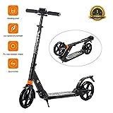 Windwalker Big Wheel Scooter 200 mm Trottinette City Scooter Hauteur Réglable en...