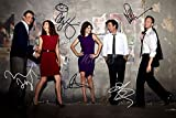 Póster pre firmado de How I met your mother - 30x20 cm...