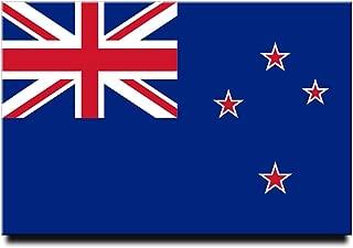 New Zealand Flag Fridge Magnet Wellington Travel Souvenir Auckland