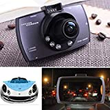 Kaimu Durable Practical HD LCD Display Wide Angle Lens Car Driving Recorder In-Visor Video