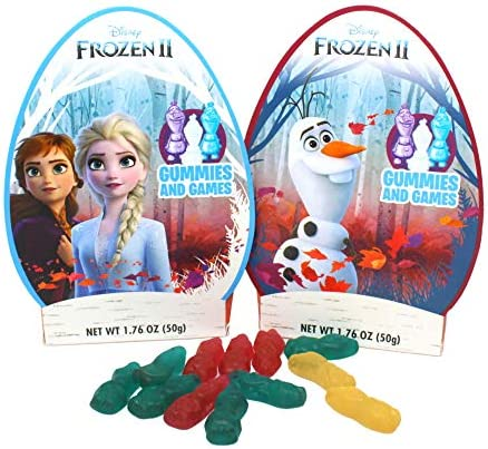 Disney s Frozen Easter Eggs with Character Shaped Gummy Candies and Games for Kids Elsa Ana product image