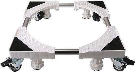 洗濯機 台 キャスター 伸縮式洗濯機置き台 かさ上げ 車 ドラム式 脱衣所 可動式 洗濯機移動 洗面所-HXF88A08