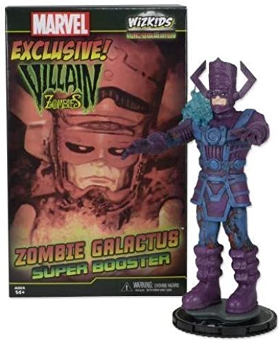 2014 SDCC EXCLUSIVE MARVEL HEROCLIX LIMITED EDITION VILLAIN ZOMBIES  ZOMBIE GALACTUS SUPER BOOSTER by NECA