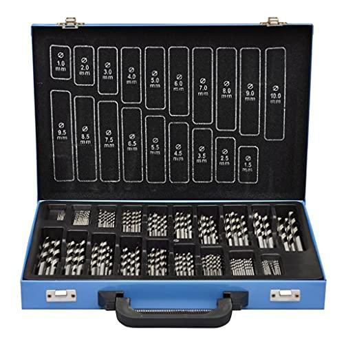 VIENDADPOW Set De Brocas En Caja Metal (170 Piezas) HSS EC