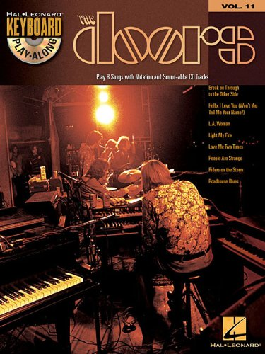 Doors The Keyboard Play-Along Vol.11 + Cd