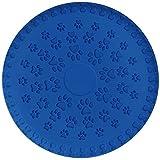 SchwabMarken Weiche Hunde Frisbee/Dog Frisbee Disc, 5 Stück, Farbe Blau, Durchmesser ca. 23 cm Mengen