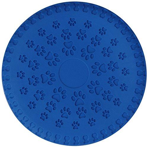 SchwabMarken 1, 3, 5, 9 o 15 frisbees Blandos para Perros/Dog Frisbee Disc, 5 Unidades, Color Azul, de 23 cm de diámetro