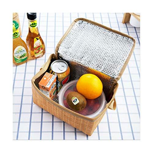 Chirs ofrece una nevera térmica portátil con aislamiento térmico para el almuerzo, bolsa de almacenamiento de alimentos fríos