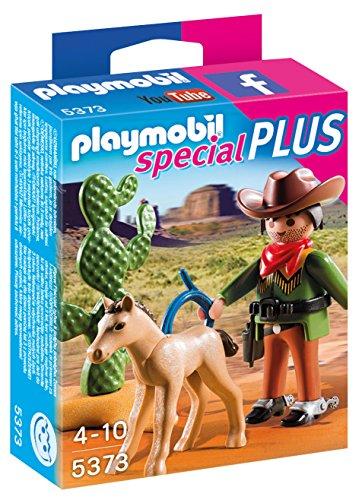 Playmobil - 5373 - Cow-Boy avec Poulain