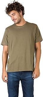 T-Shirt Básica Comfort Verde Militar